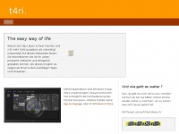t4ri.de Webseite Vorschau