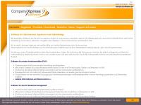 cx-software.de Webseite Vorschau