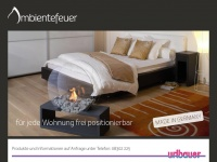 ambientefeuer.de Webseite Vorschau