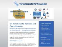 verband-auto.de Webseite Vorschau