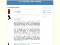 klapphandyohnevertrag.com