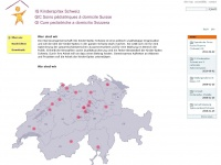 kinder-spitex.ch Webseite Vorschau