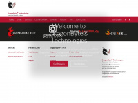 dragonbyte-tech.com Webseite Vorschau