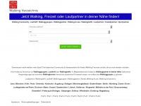 walking-verzeichnis.de Webseite Vorschau