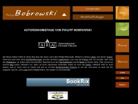 philippbobrowski.de Webseite Vorschau