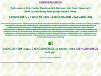 saengerheim.de