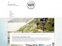 sporthaus-mayr.de