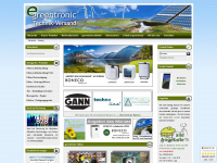 greentronic.de Webseite Vorschau