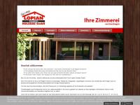 lopian-holzbau.de Webseite Vorschau