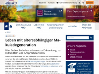 amd-netz.de Webseite Vorschau