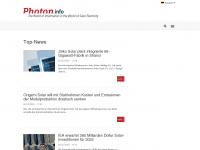 photon.info Webseite Vorschau