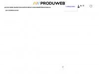 produweb.be Webseite Vorschau