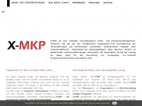 x-mkp.de Webseite Vorschau