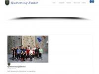 zueschen-spielmannszug.de Webseite Vorschau