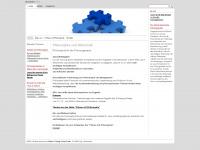 philosophie-und-wirtschaft.ch Webseite Vorschau