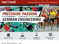 raceresult.com Webseite Vorschau