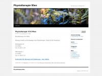 physiotherapiewien.wordpress.com Webseite Vorschau