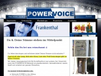 powervoice-frankenthal.de