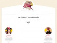 kinderbelustigung-hochzeit.de Webseite Vorschau