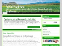vitalityweb.de Webseite Vorschau