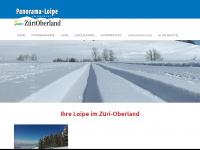 panoramaloipe.ch Webseite Vorschau