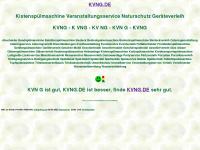 kvng.de Webseite Vorschau