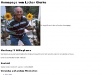 lothargierke.de Webseite Vorschau