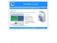 scientific-counter.com Webseite Vorschau