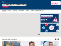 cdu-rd-eck.de Webseite Vorschau