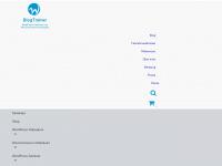 blogtrainer.de Webseite Vorschau