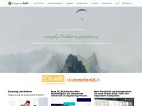 amperesoft.net Webseite Vorschau