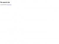 re-search.de Webseite Vorschau