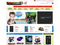 kinderplanet.de Webseite Vorschau