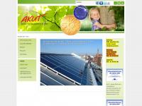 akut-solar.de Webseite Vorschau