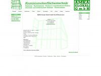 amka-eloxal.de Webseite Vorschau