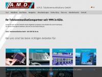 amd-gmbh.com Webseite Vorschau