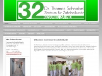 32gesundezaehne.de Webseite Vorschau