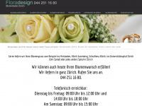 blumenladen-zuerich.ch Webseite Vorschau