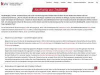 kvvks.de Webseite Vorschau