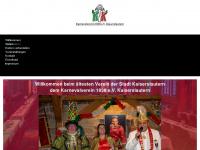 kvk1838.de Webseite Vorschau