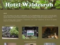 hotel-waldesruh.com