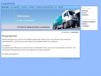 logistikeria.de Webseite Vorschau