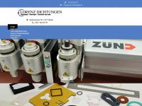 lorenz-dichtungen.de Webseite Vorschau