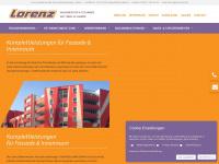 lorenz-fassadensanierung.de Webseite Vorschau