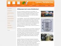 lorenz-behaelterbau.de Webseite Vorschau