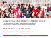 boogie-baeren.de Webseite Vorschau