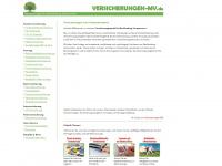 versicherungen-mv.de Webseite Vorschau