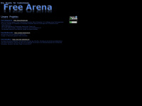 freearena.de Webseite Vorschau