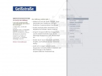 geissstrasse.de