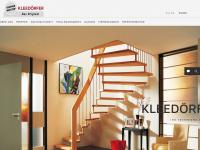 treppenbau-kleedoerfer.de Webseite Vorschau